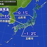 今朝も冷えた 冬日地点は昨日に続き300超 西日本の内陸部で冬日の所も