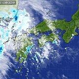 中国地方 きょう(12日)は西から傘の出番 あすにかけて本格的な雨に