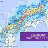 大雨:防災上の注意点とリンク集