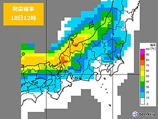 北陸 土日大荒れ 日曜は雷や暴風・高波に要警戒 標高の高い山は吹雪のおそれ