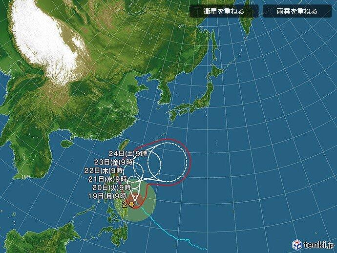 台風2号 東北地方への影響は?