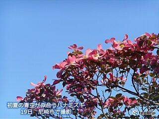 関西 あす火曜日は初夏の陽気 夏日になる所も