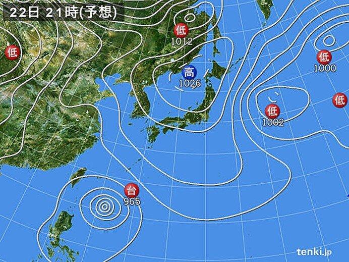 北海道から九州 広く晴れる