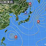 23日 広く晴れ 近畿から九州は所々で夏日 沖縄は台風2号の影響で雨風強まる