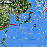 28日(水) 雨の範囲が次第に広がる 西日本では雷を伴い雨脚の強まる所も