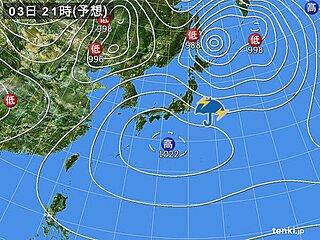 3日 憲法記念日も関東など天気急変に注意 東海から九州は晴れて気温アップ