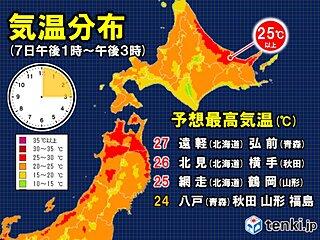 5月にもリスクが潜んでます 北海道や東北で今年一番の暑さ マスク熱中症に注意!