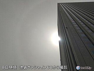 東京でも黄砂を観測 今シーズン3回目 シーズン3回以上は11年ぶり