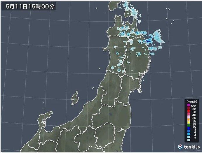 東北 今夜はにわか雨 12日は晴れても仙台などヒンヤリ