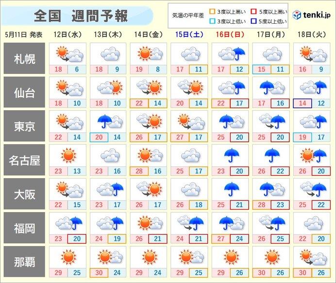 九州南部は梅雨入り早々、大雨の恐れ 本州付近も梅雨のようにぐずついた天気に_画像