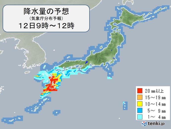 九州南部は梅雨入り早々、大雨の恐れ 本州付近も梅雨のようにぐずついた天気に