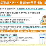 今シーズン初「熱中症警戒アラート」沖縄県の八重山地方に発表 あすは熱中症に警戒