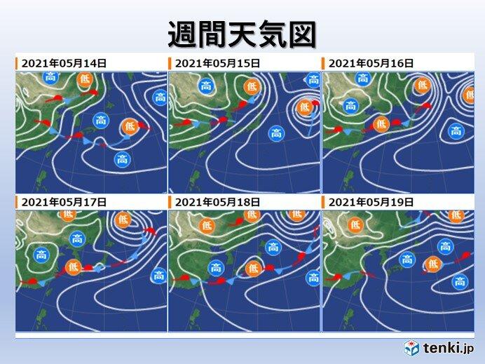 梅雨入り平年より早まる可能性も