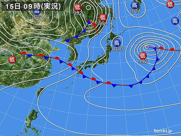 熊本県で1時間に60ミリ以上の非常に激しい雨を観測