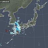熊本県で60ミリ以上の非常に激しい雨 5月として1位 土砂災害に警戒