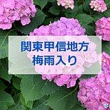 関東甲信地方が梅雨入り ここ10年で一番遅い梅雨入りに