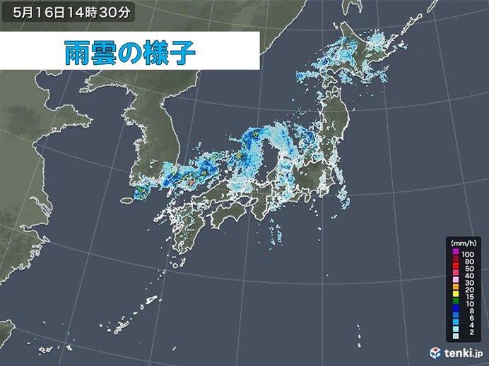 近畿と東海が梅雨入り