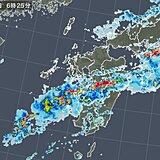 熊本県で猛烈な雨 わずか3時間で150ミリ近い大雨に