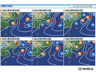 梅雨入り前の関東甲信~東北も天気ぐずつく 再び大雨の恐れ 晴れ間はいつ?