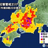 長野県や岐阜県などで土砂災害の危険性高まる 厳重な警戒を