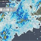長野県や東海 午後も発達した雨雲かかる 土砂災害などに厳重警戒
