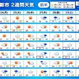 「2週間天気」早すぎる梅雨 この先の見通しは 関東甲信の梅雨入りは近い?