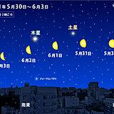 皆既月食だけじゃない 今週末から来週は「月」と「惑星」に注目 観測チャンスあり
