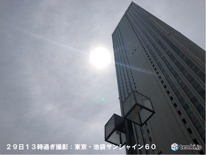 東京都内で大きな光の環「ハロ」出現 天気下り坂のサイン どこで雨が降る?