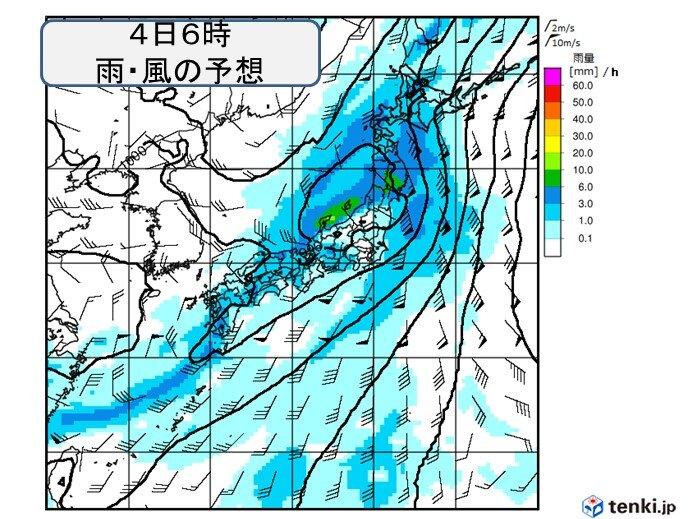 3日(木)~4日(金)は広く雨 雷雨や強雨も そのあとも曇りや雨の日続くか?