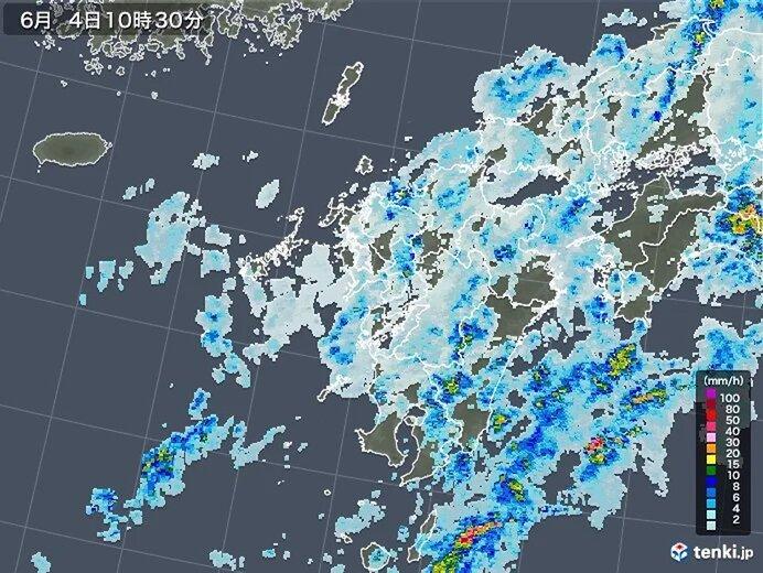 九州 4日 降り始めからの雨量200ミリ超え 土砂災害に警戒