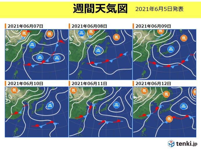 予報 週間 2 東京 天気 週間 東京は10日(水)に20℃。気温が高めの1週間も、週末は広範囲で雨【週間天気 3/9~3/15】