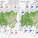土日の関東地方 天気がゆっくり下り坂 蒸し暑さが増してくる