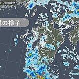 屋久島で1時間に50ミリ以上の非常に激しい雨 九州南部は大雨による土砂災害に警戒