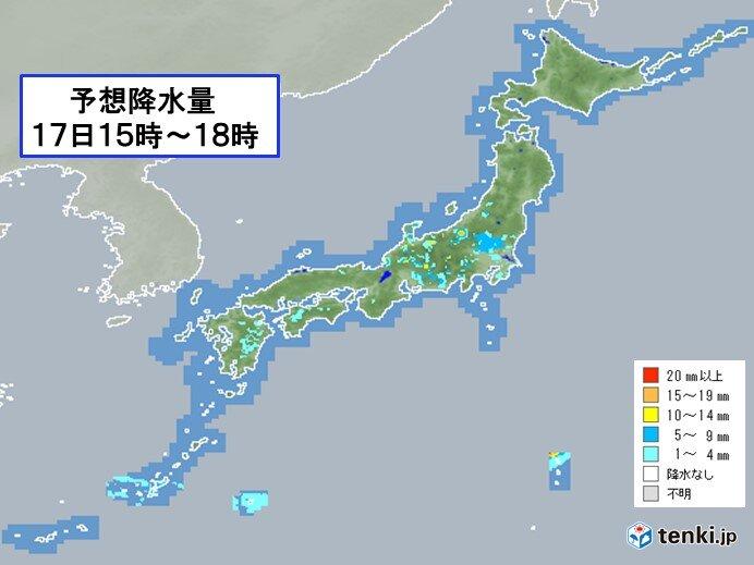 関東周辺 かわりやすい天気