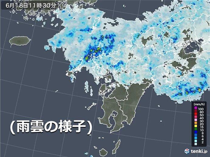 18日~19日明け方 まとまった雨