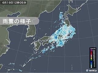 近畿~東北を中心に広く雨 北陸や東海では大雨の恐れ