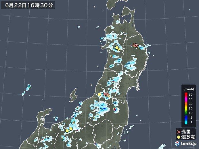 25日(金)頃まで天気急変 週明けは大雨の恐れも