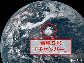 台風5号の北上で梅雨前線の活動が活発に 週末以降は広い範囲で大雨の恐れ