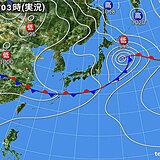 30日 梅雨前線が引き続き沖縄付近に 九州から北海道は局地的に雨雲や雷雲が発達