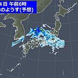 あす4日は前線が北上 引き続き活動が活発 日本海側の地域も激しい雨のおそれ