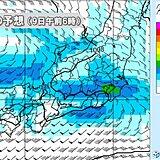 土石流のあった熱海など東海から関東南部 週中頃から雨続く 連日30℃以上の真夏日