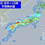 9日も 大雨による災害に警戒 九州から東海、北陸にかけて 所々で激しい雨