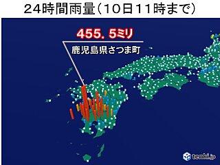 鹿児島県で平年の7月ひと月分の雨量に匹敵する雨 命を守る行動とは