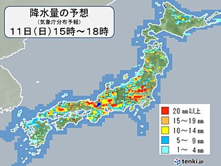 梅雨末期の大雨いつまで 日曜も九州は大雨災害に厳重警戒 本州も滝のような雨の恐れ