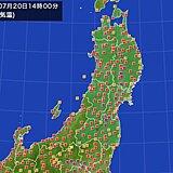 秋田県で4日連続猛暑日 7月として32年ぶり 熱中症に厳重警戒 急な雷雨も 東北