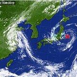 台風8号 28日午前中に東北に上陸へ 就寝時間帯の大雨に警戒 早めの避難を