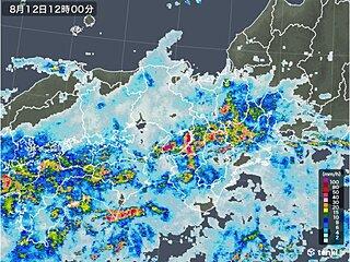 関西 秋雨前線が日本付近に停滞し、大雨の恐れがある