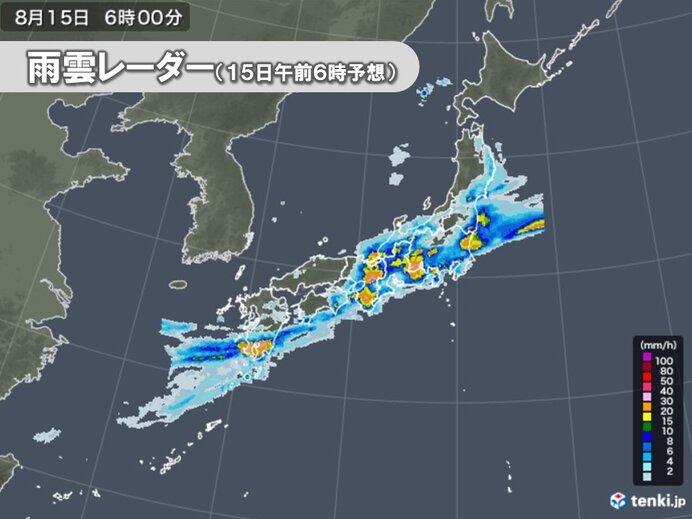 過去経験したことのない大雨エリア 東海や関東甲信などにも拡大 災害発生の危険度大