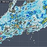 15日(日) 午前を中心に激しい雨 東京都などに土砂災害警戒情報