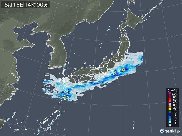 大雨エリアは太平洋側へ 雨が止んでも油断しないで